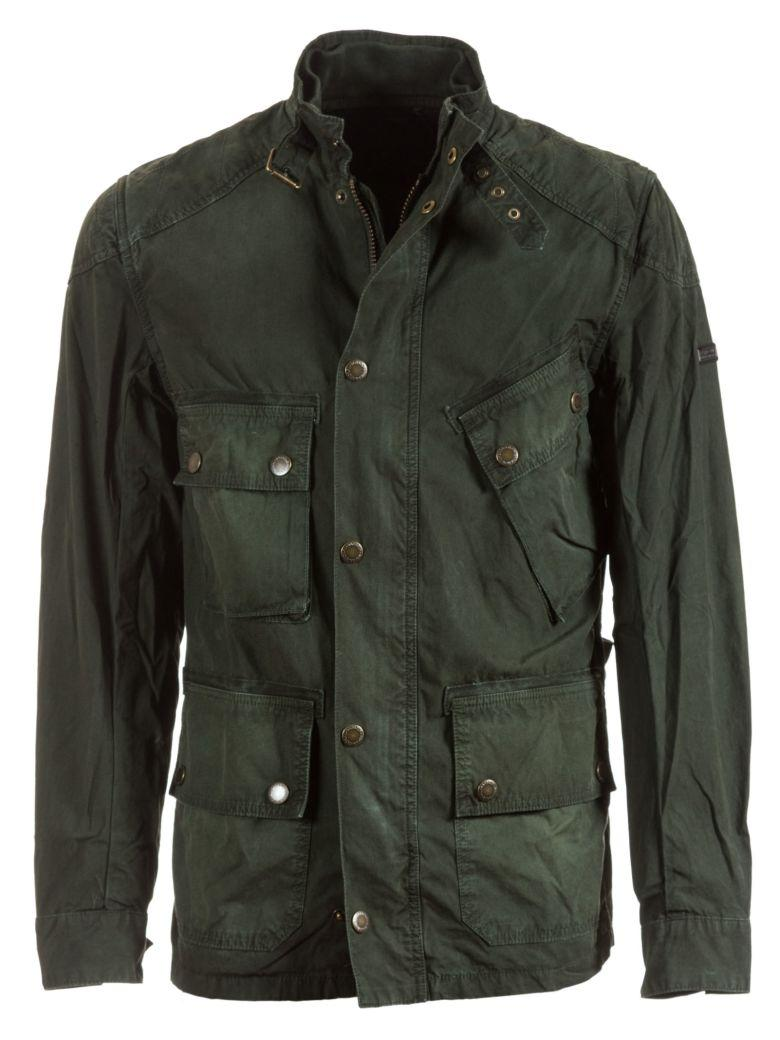 Barbour Buttoned Jacket In Green