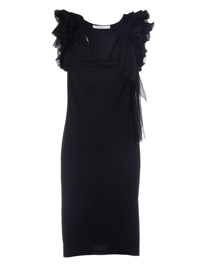 Givenchy Shift Dress In Black