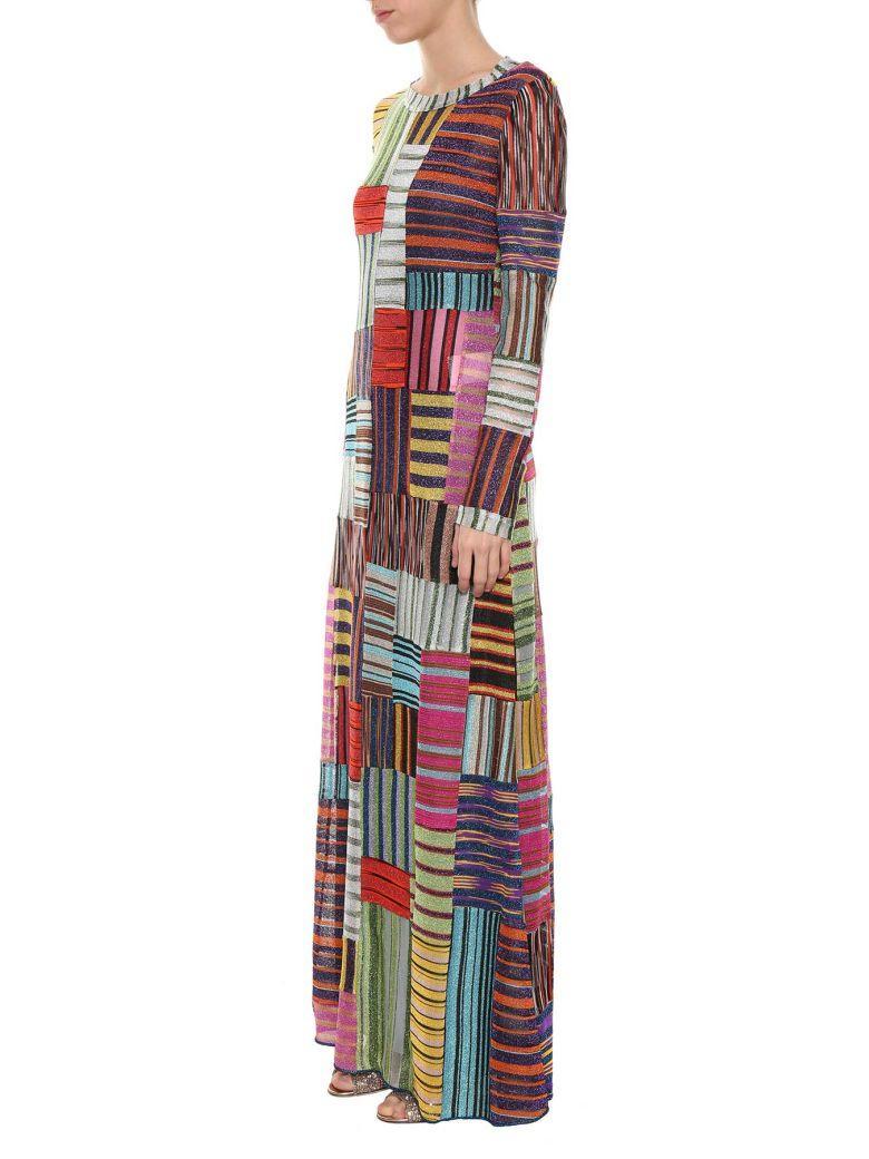 Missoni Striped Dress In Multi