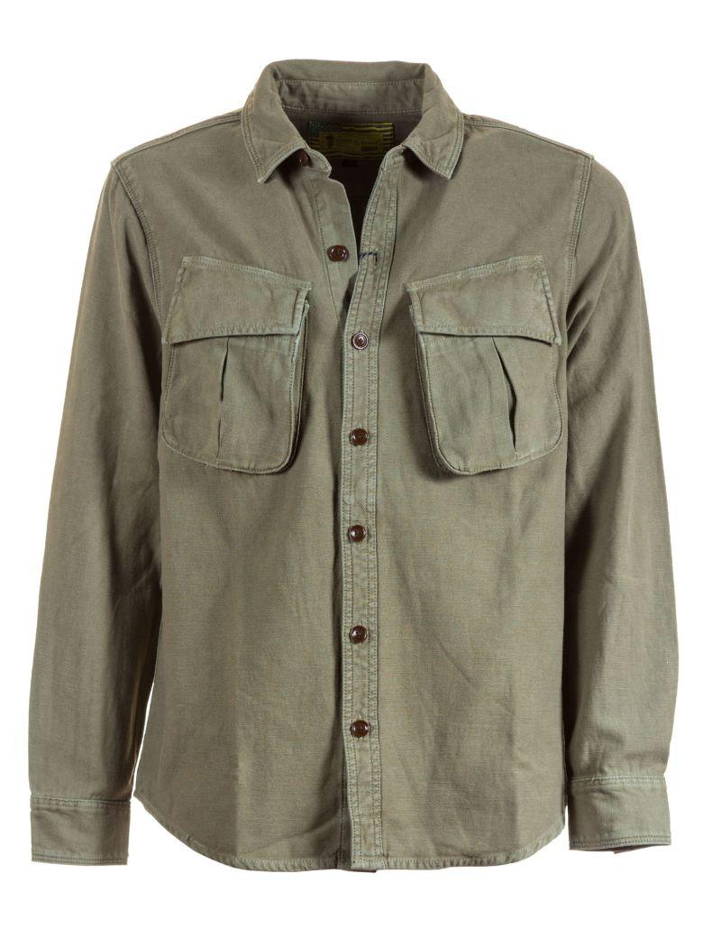 Barbour Military Style Shirt In Green