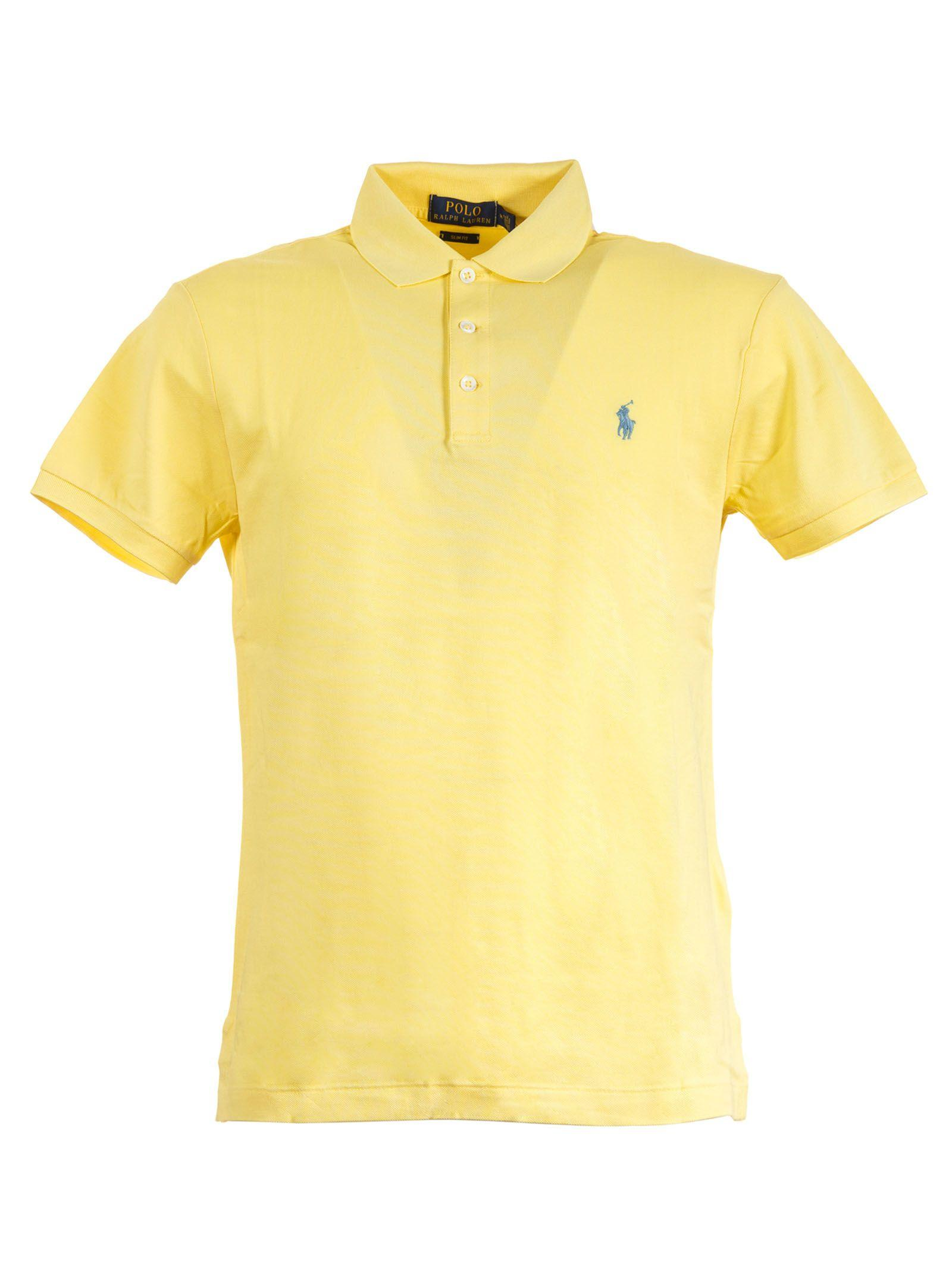 Polo Ralph Lauren Classic Polo Shirt In Yellow