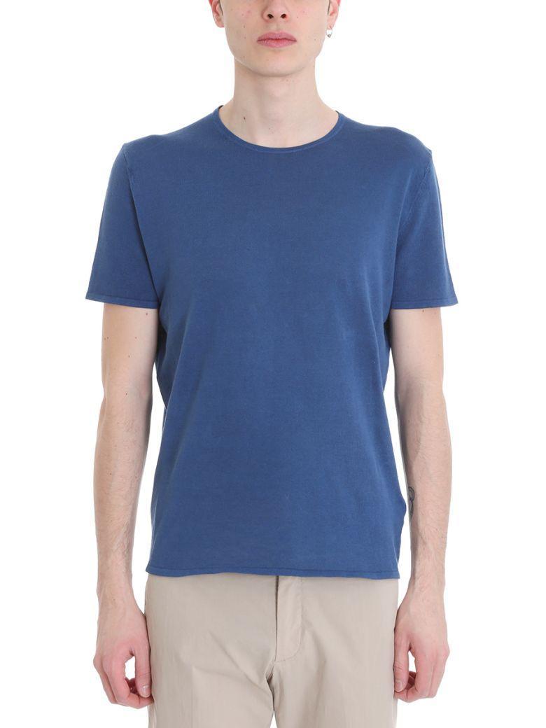 Z Zegna Blue Wool T-shirt