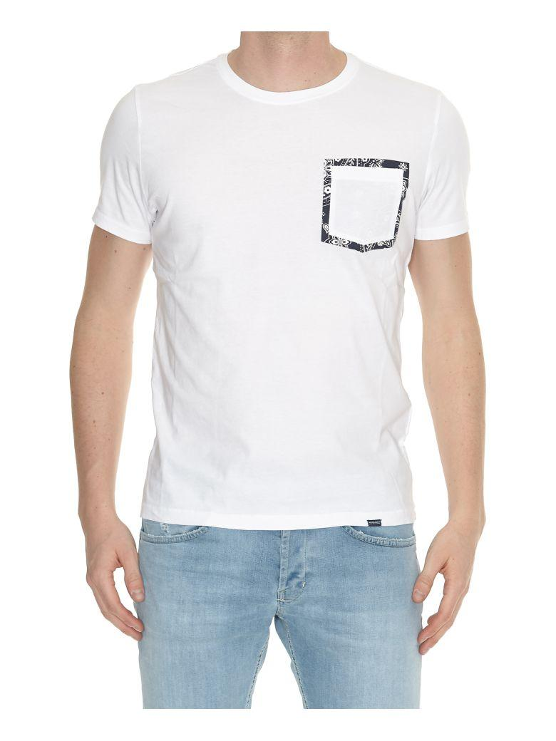Woolrich Pasley Pocket T-shirt In Optic White