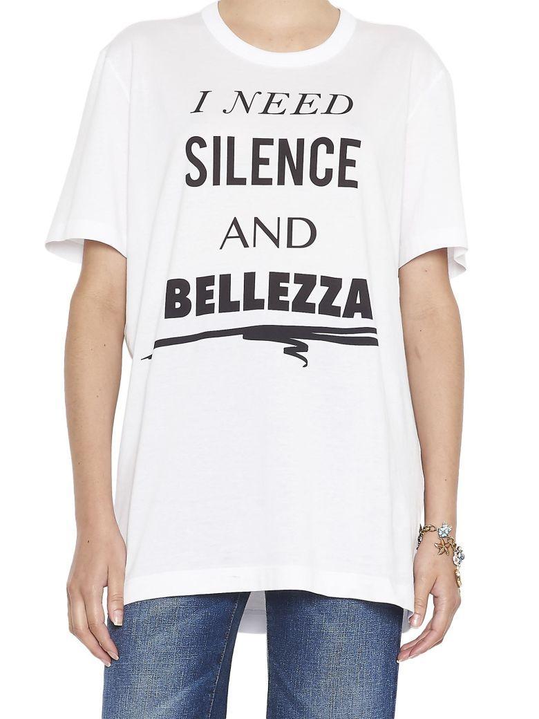 Dolce & Gabbana Printed T-shirt In White