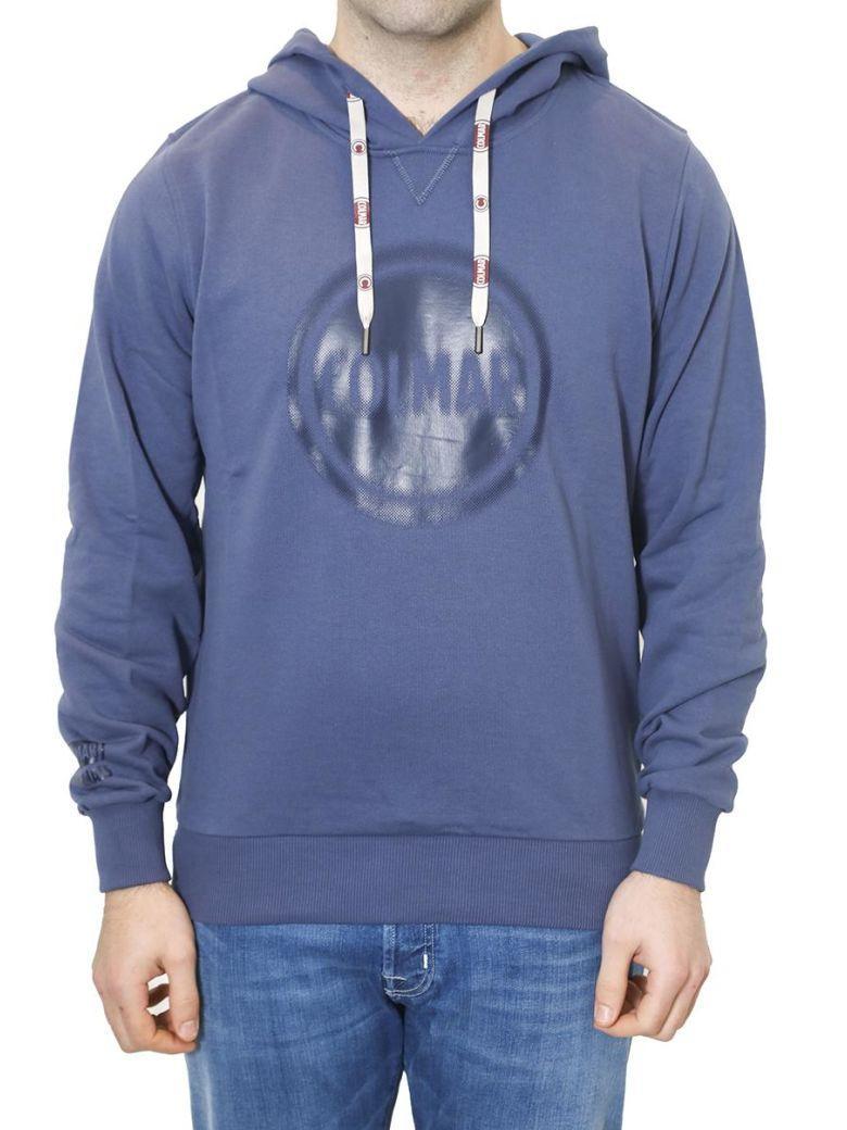 Colmar Originals - Mens Cotton Hoody In Blue