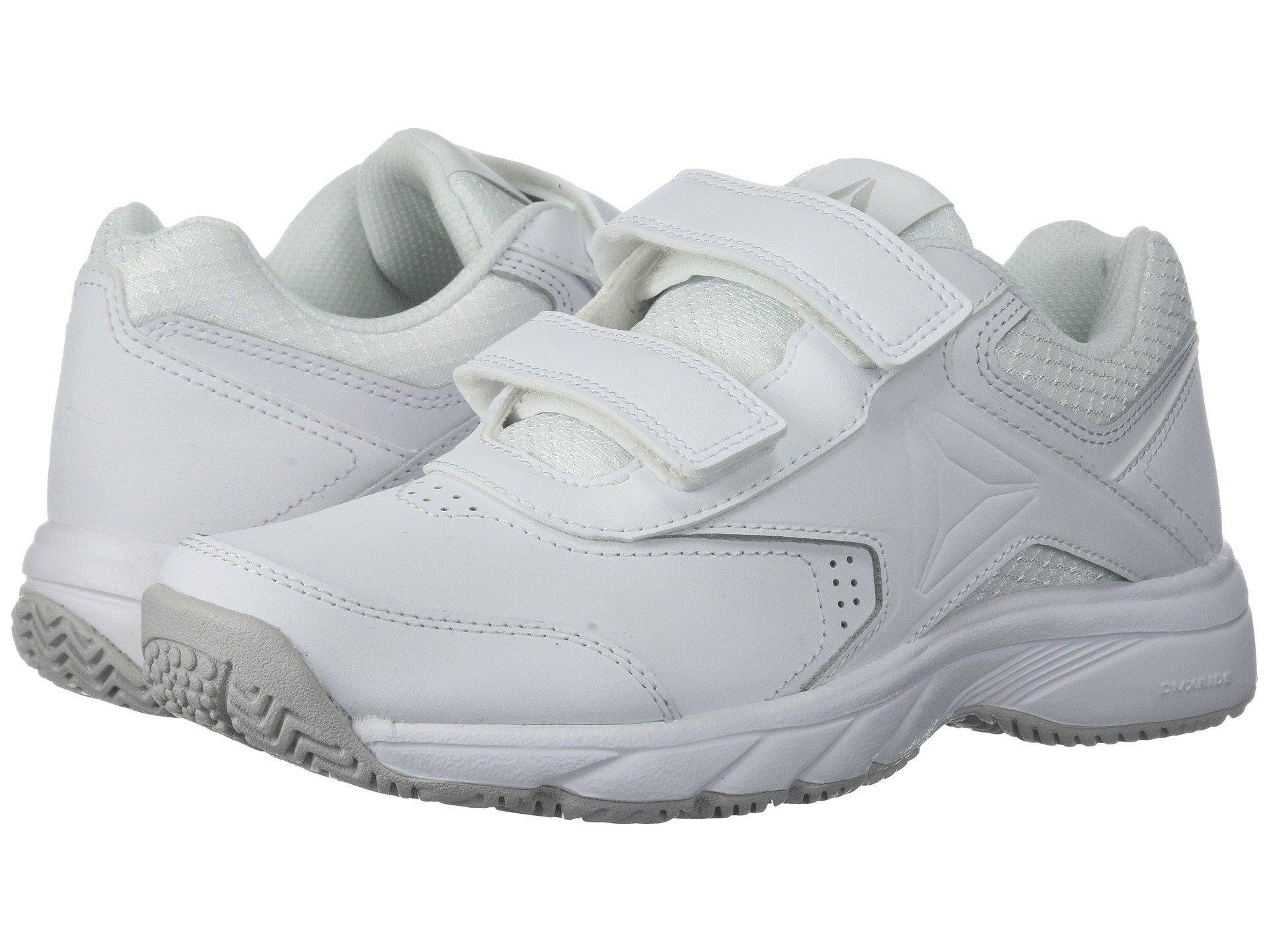 Reebok , White/steel