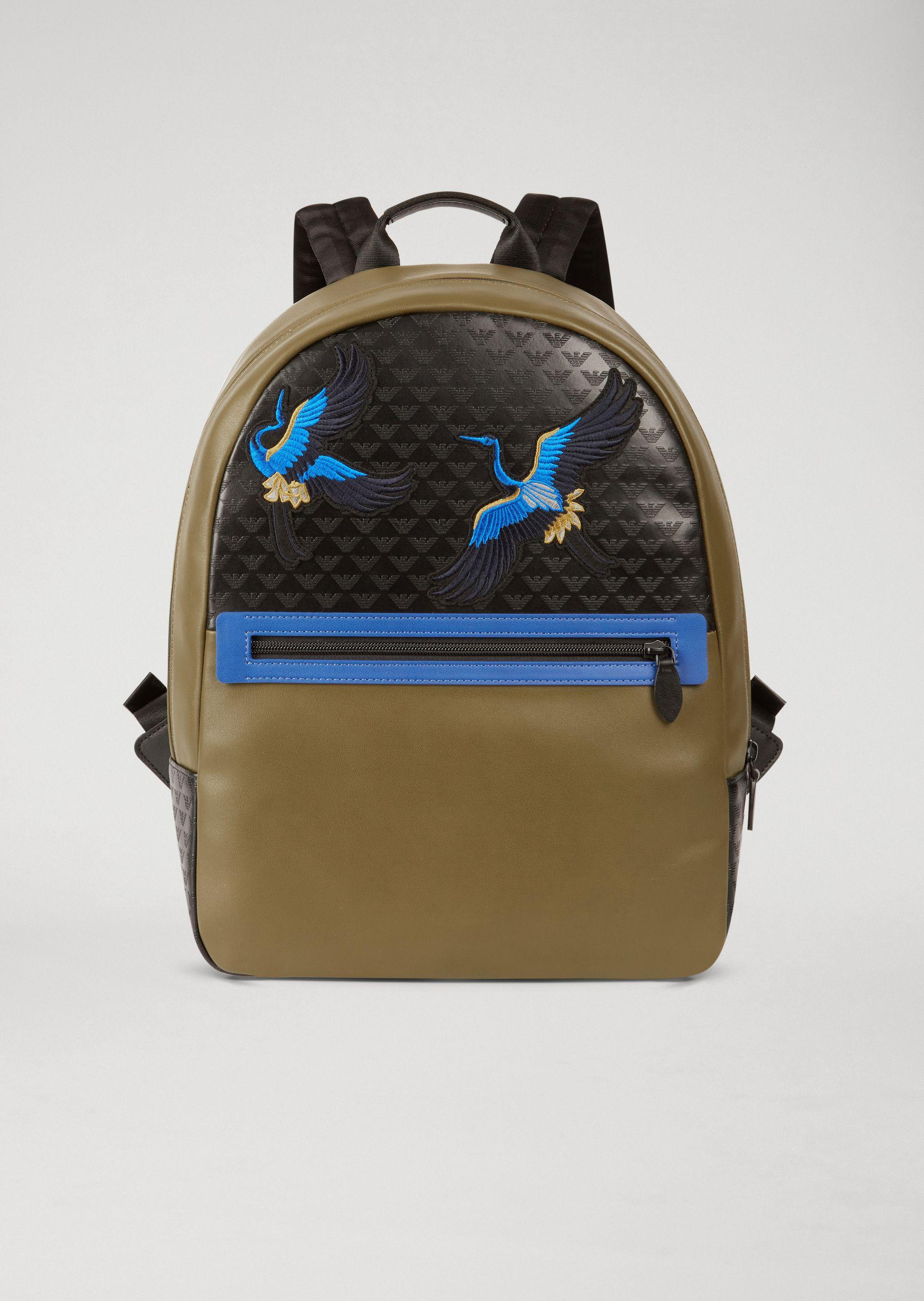 Emporio Armani Backpacks - Item 45394608 In Military Green
