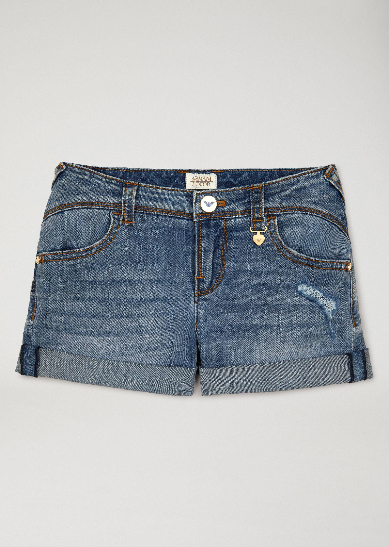 Emporio Armani Shorts - Item 13164037 In Denim