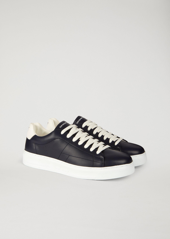 Emporio Armani Sneakers - Item 11436262 In White