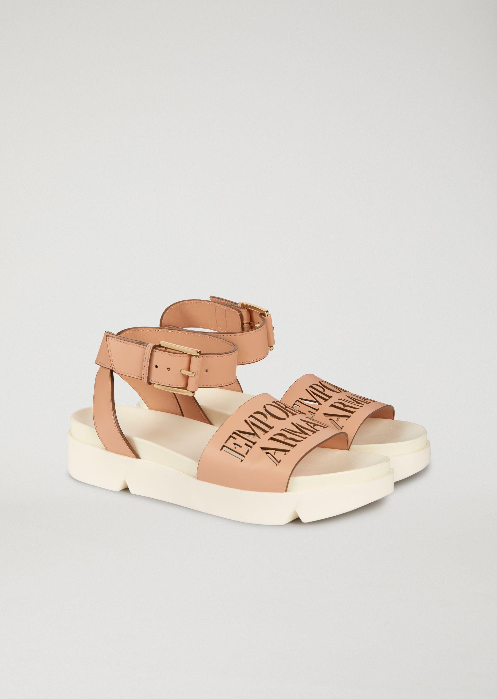 Emporio Armani Sandals - Item 11441475 In Nude