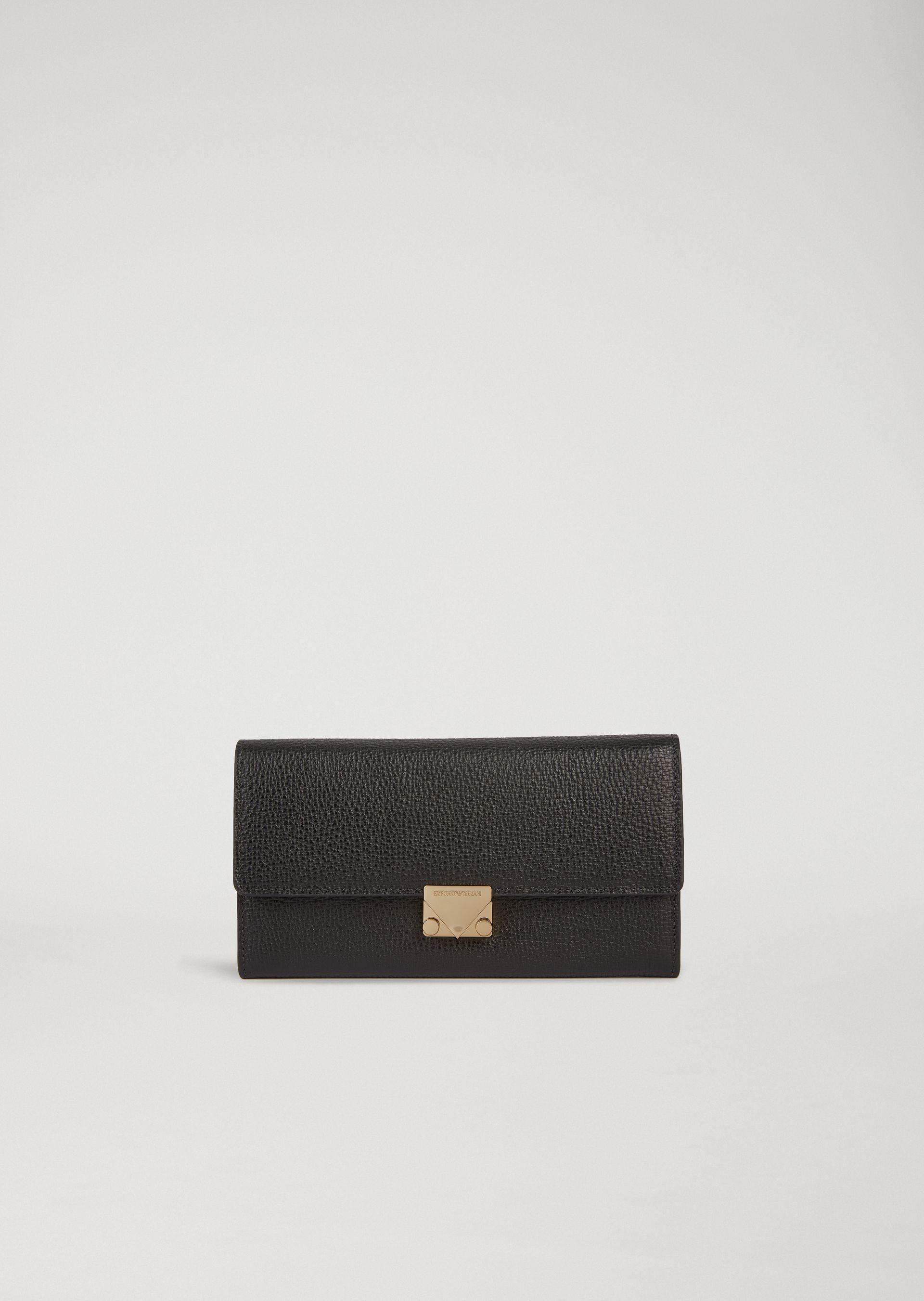 Emporio Armani Wallets - Item 46569360 In Black