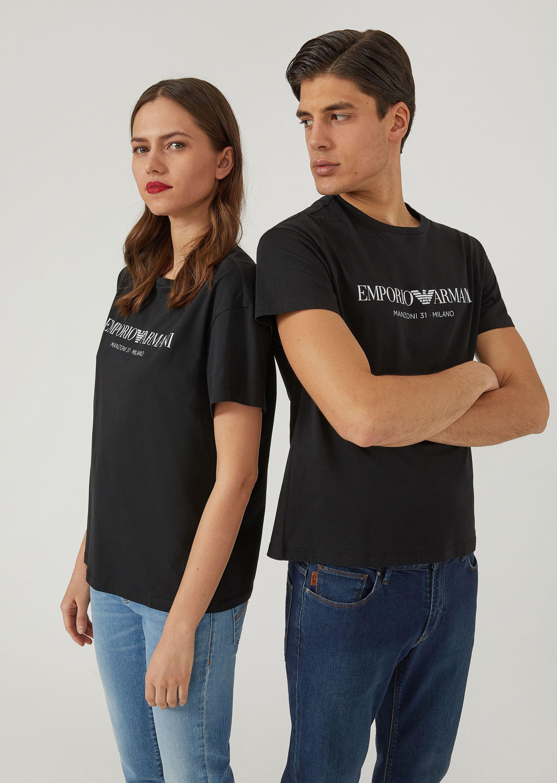 Emporio Armani T-shirts - Item 12156500 In Black