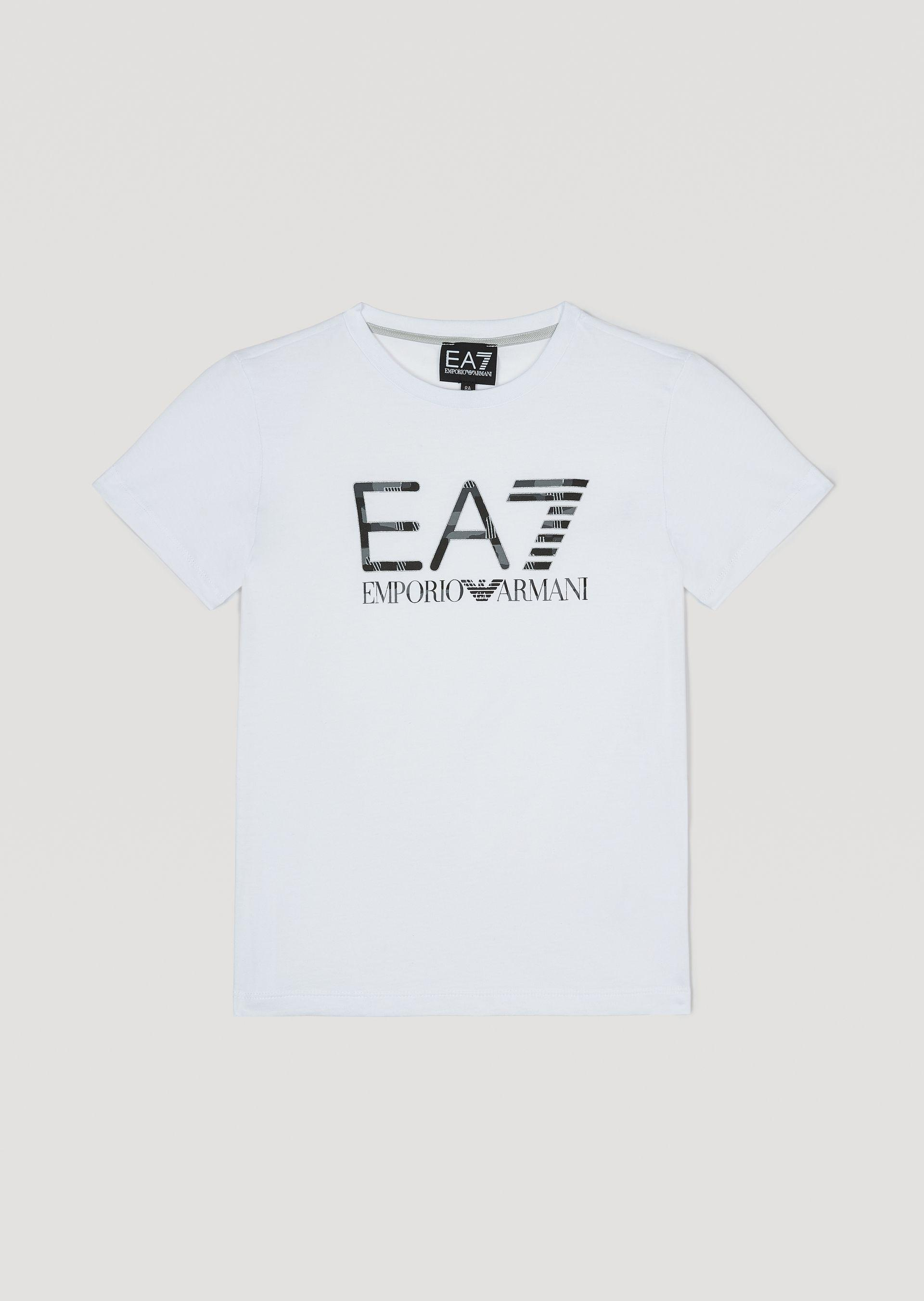 Emporio Armani T-shirts - Item 12160372 In Navy Blue