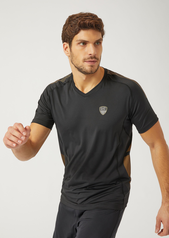 Emporio Armani T-shirts - Item 12160474 In Black ; White
