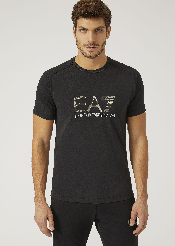 Emporio Armani T-shirts - Item 12166312 In Black