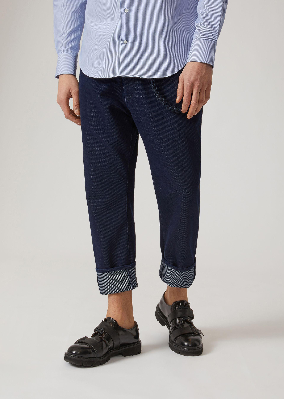 Emporio Armani Loose Jeans - Item 42666168 In Blue ; Midnight Blue