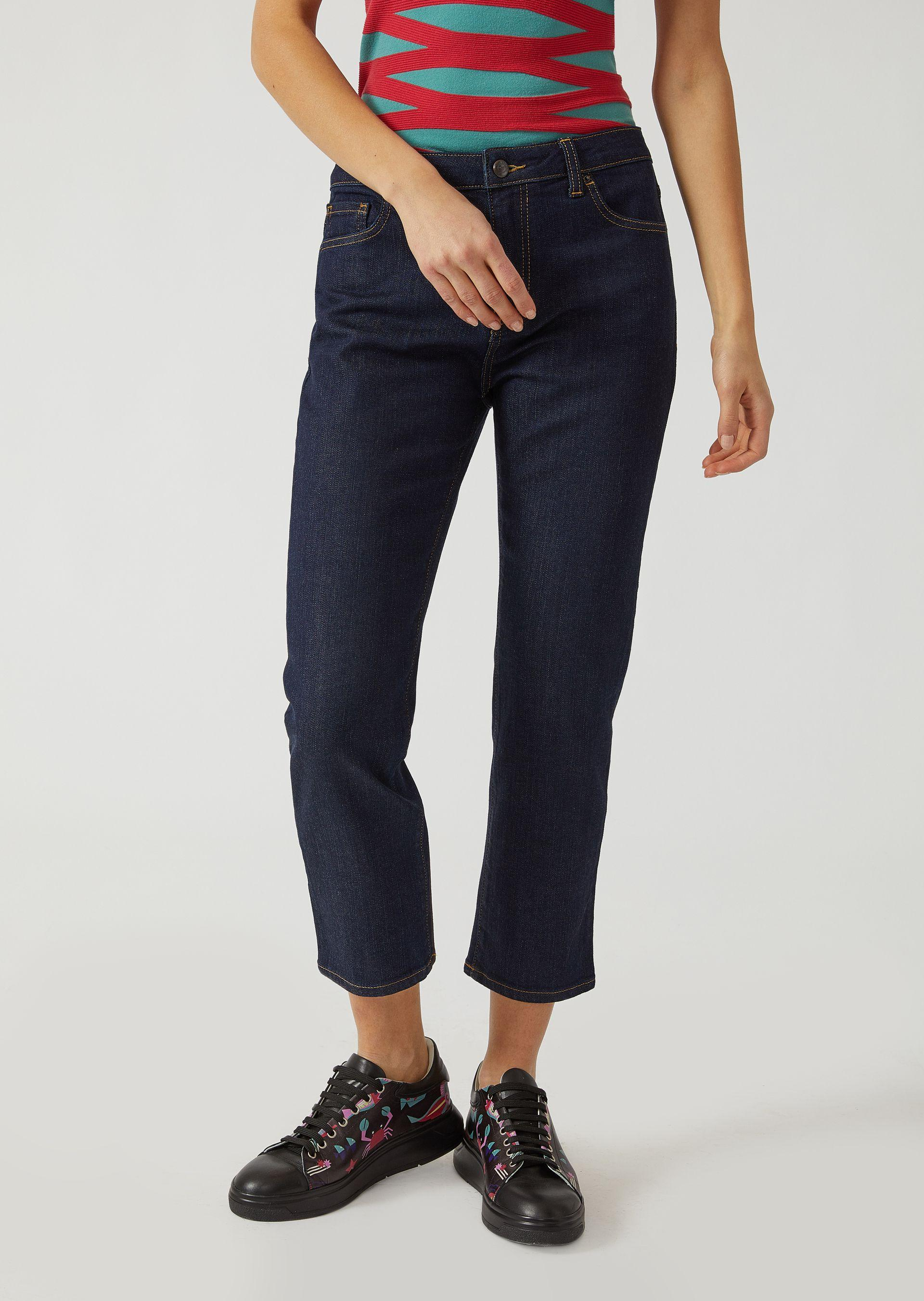 Emporio Armani Tapered Jeans - Item 42666751 In Blue