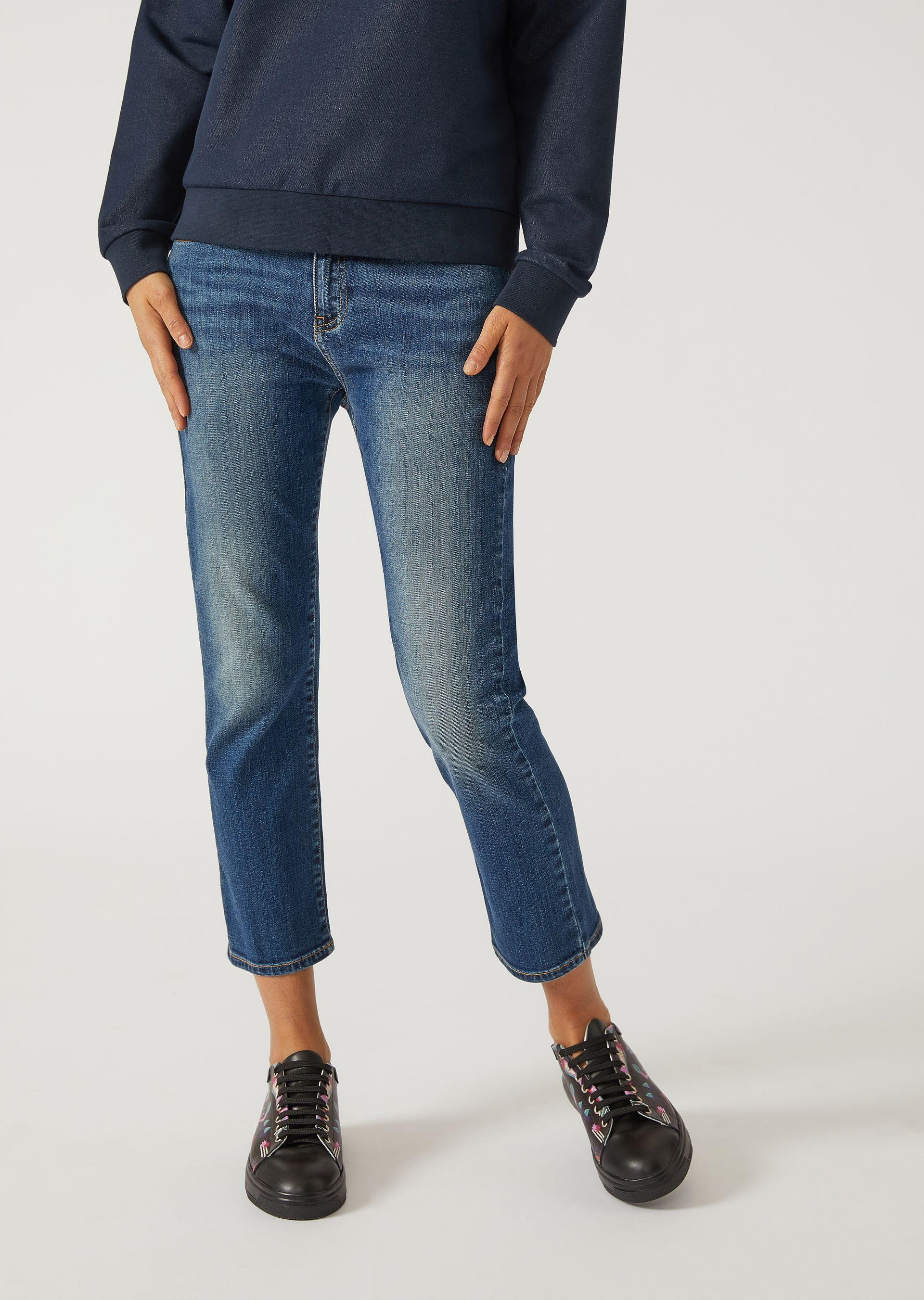 Emporio Armani Tapered Jeans - Item 42666770 In Blue