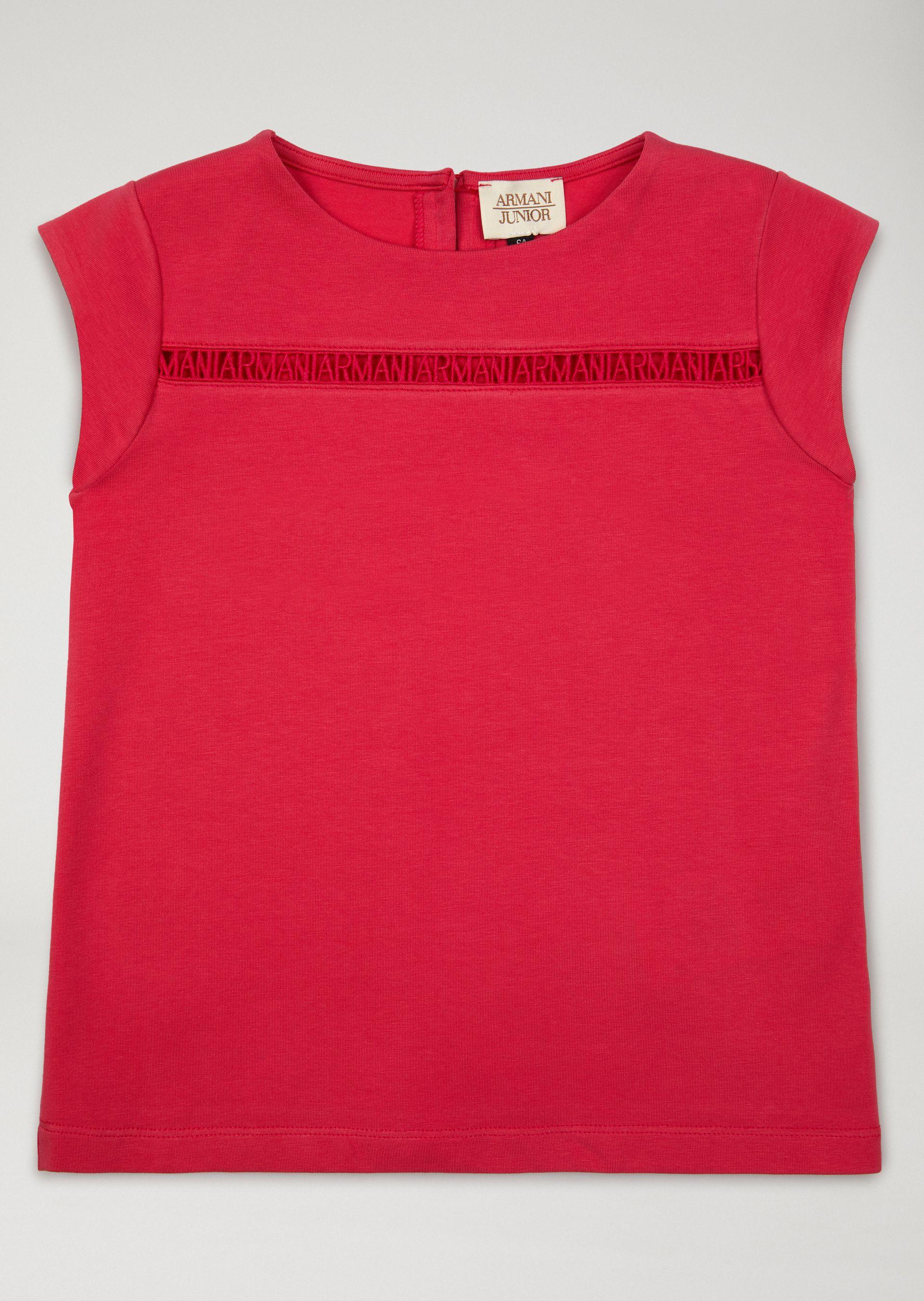 Emporio Armani Knitted Tops - Item 39844135 In Red