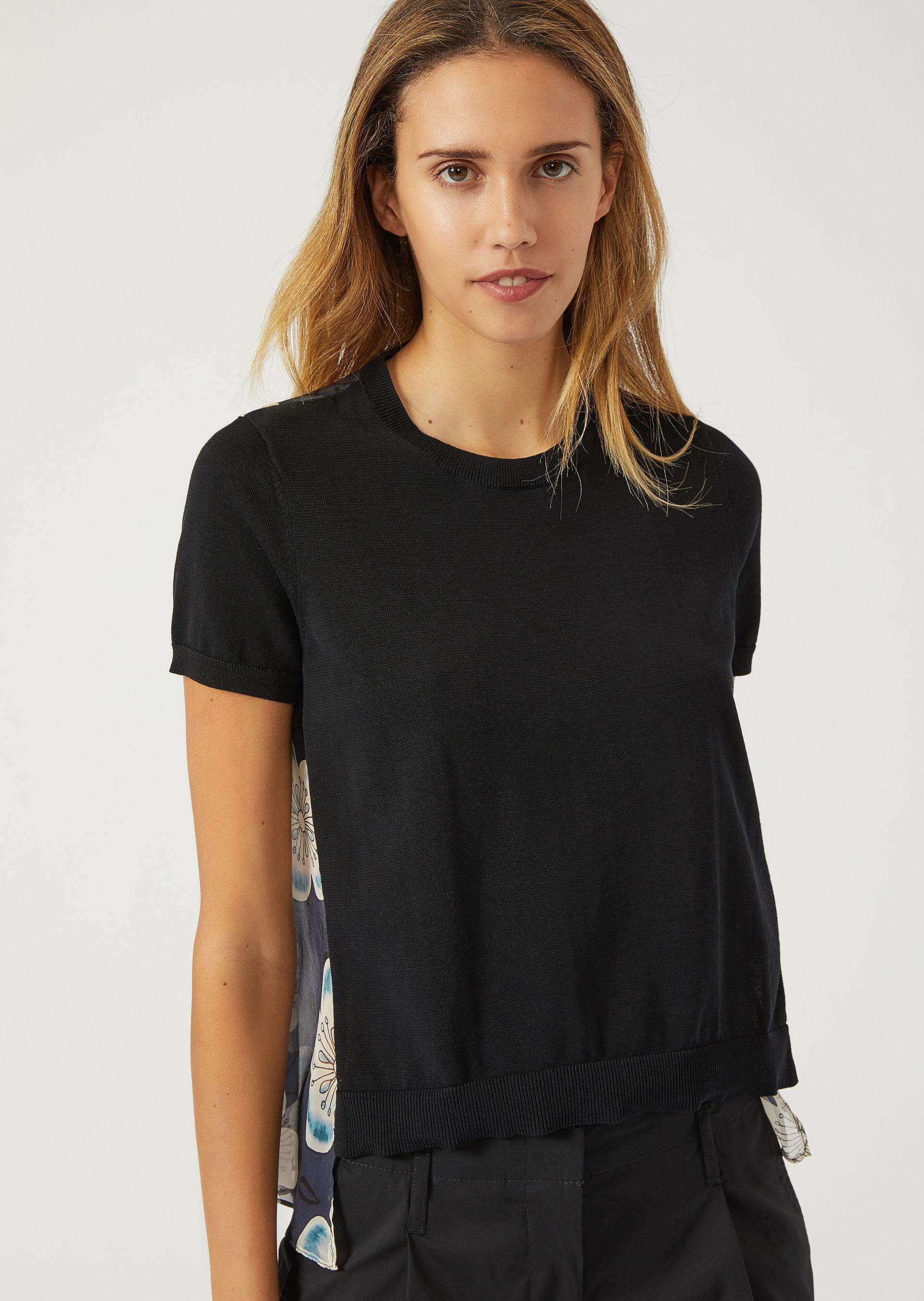 Emporio Armani Knitted Tops - Item 39834534 In Black