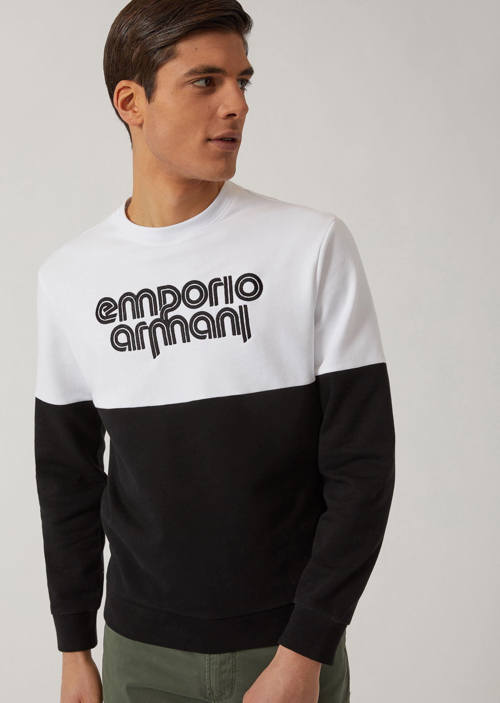Emporio Armani Sweatshirts - Item 12160340 In Bordeaux