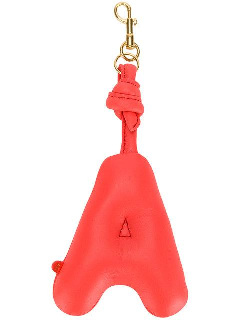 Anya Hindmarch Chubby A Charm In Red