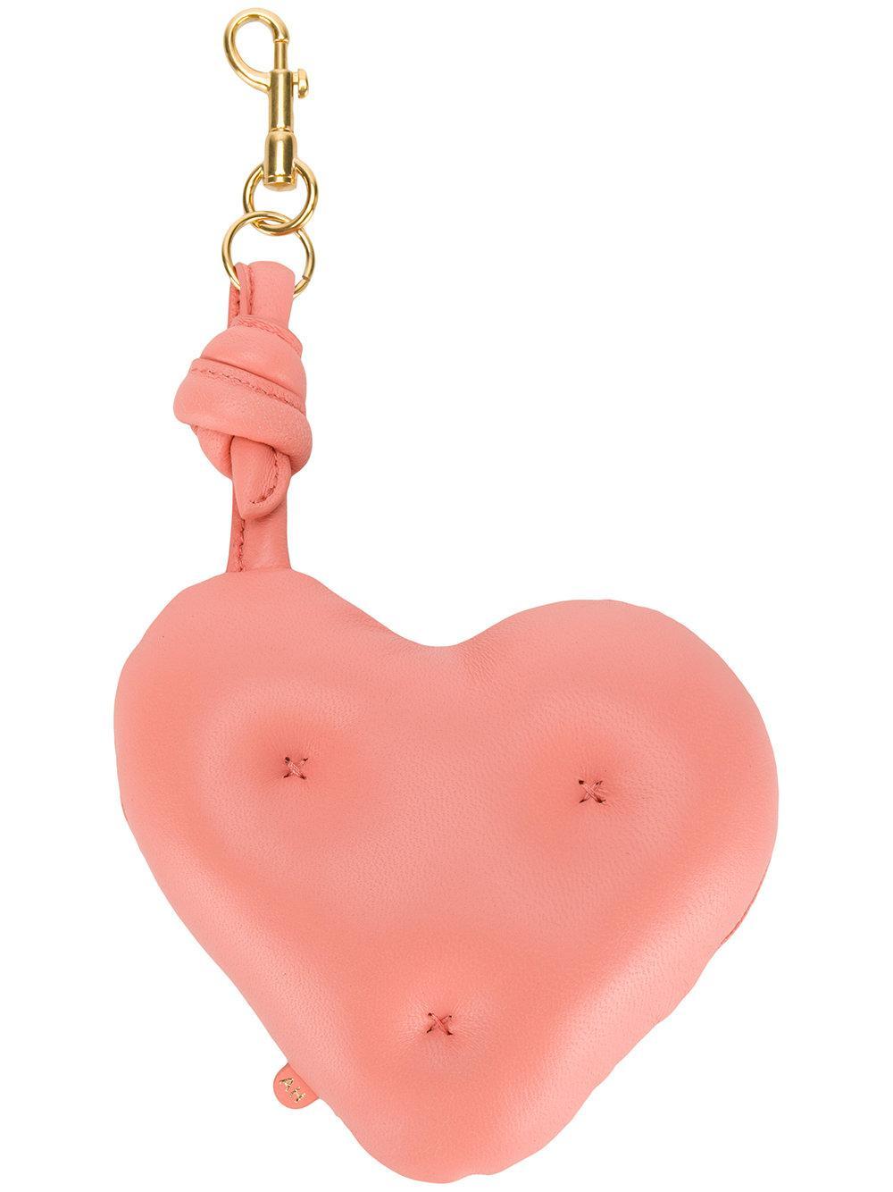 Anya Hindmarch Chubby Heart Charm - Pink