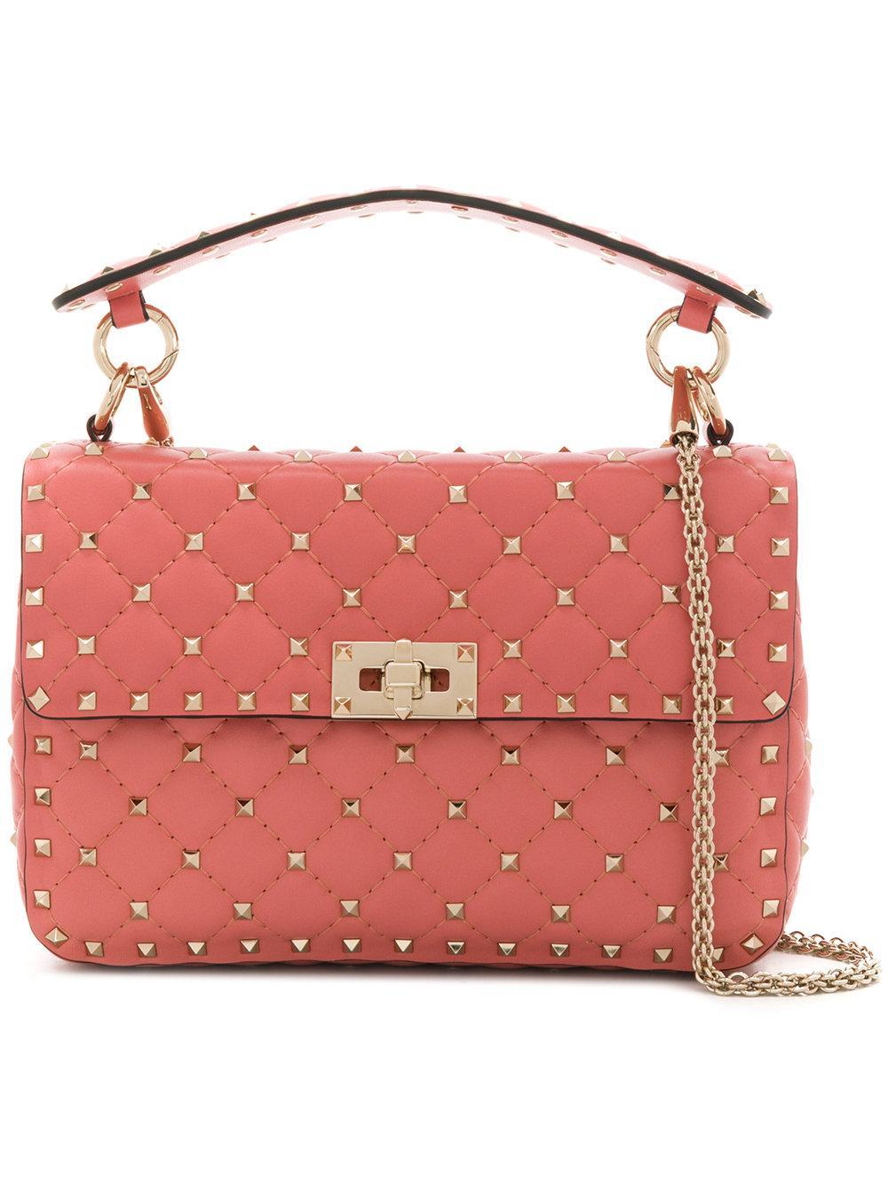 Valentino Garavani Studded Style Shoulder Bag