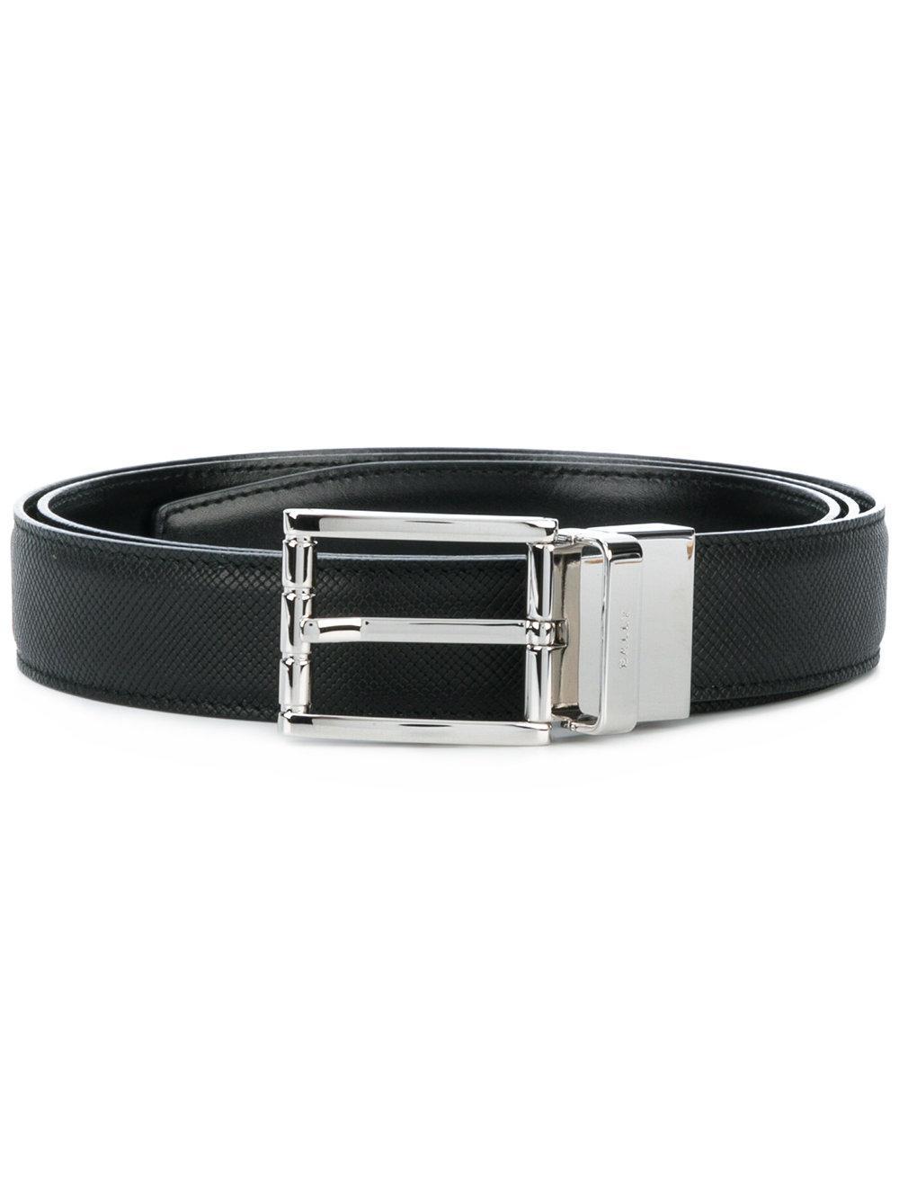 Bally Astor Reversible Belt - Black