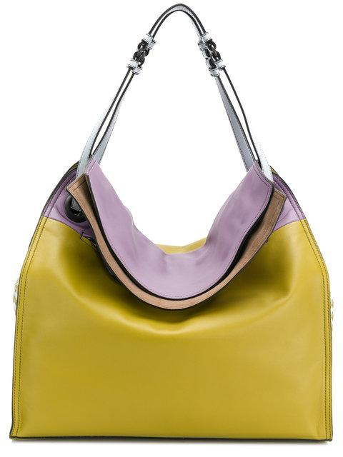Bottega Veneta Intrecciato Palio Tote - Yellow & Orange