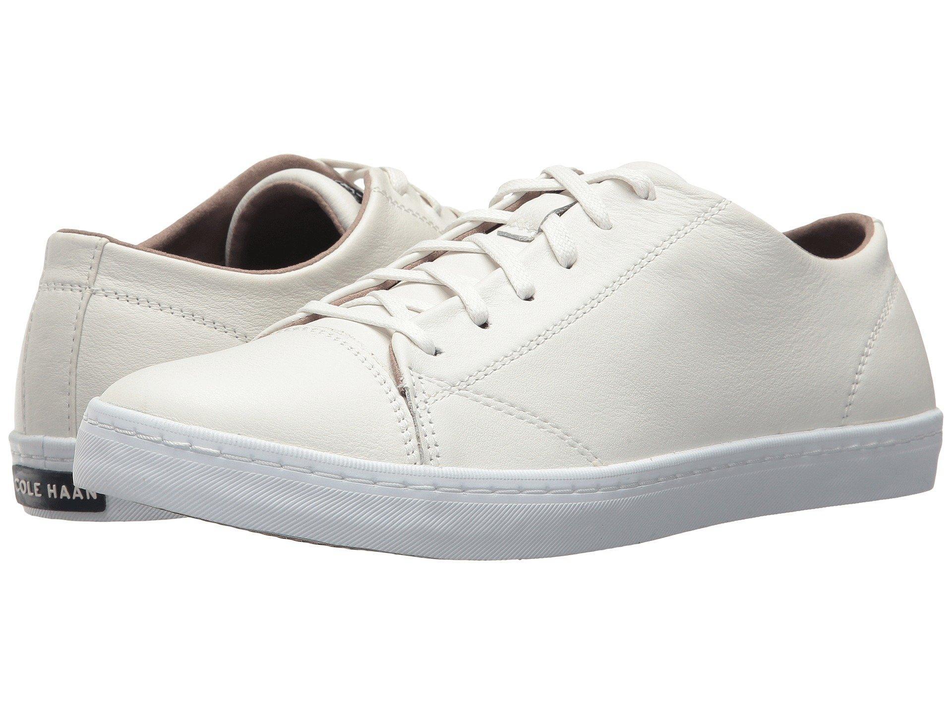 Cole Haan Trafton Lux Cap Toe Ox Ii In Optic White Leather