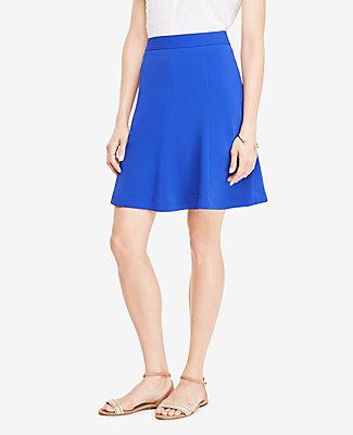 Ann Taylor Full Skirt In Modern Violet