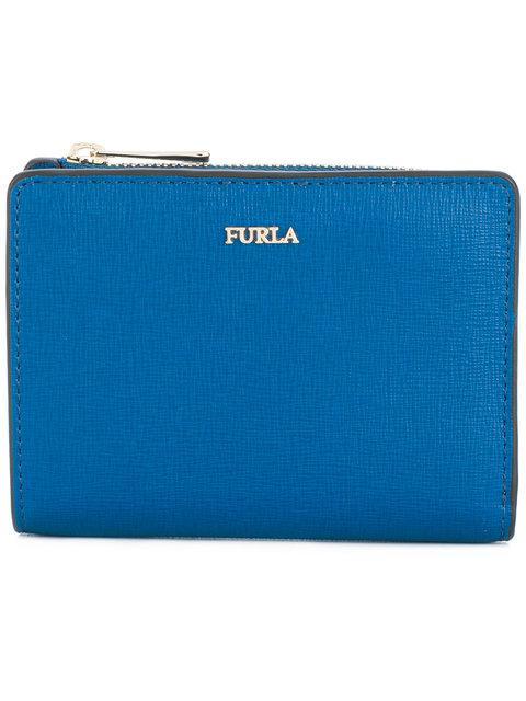 Furla Small Babylon Wallet In Blue