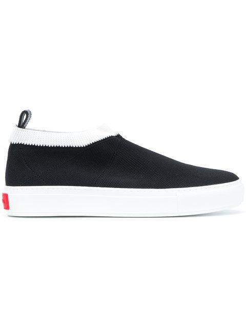 P.a.r.o.s.h. Slip-on Sock Sneakers - Black