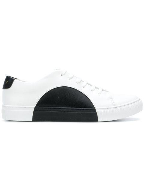 They Ny Colour-block Low-top Sneakers