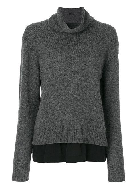 Joseph Layered Roll Neck Sweater