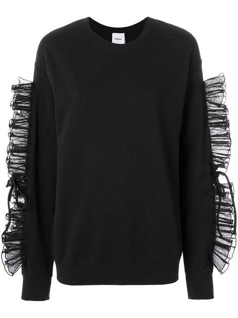 Brognano Frill Long-sleeve Sweater