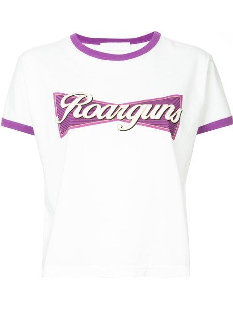 Roarguns Logo Print T-shirt
