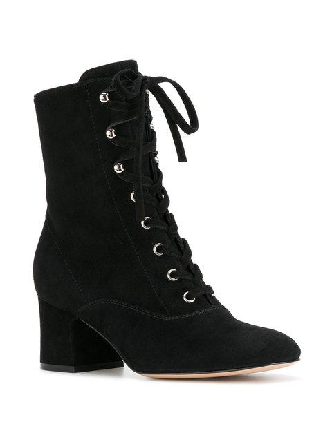 Gianvito Rossi Mackay Ankle Boots - Black
