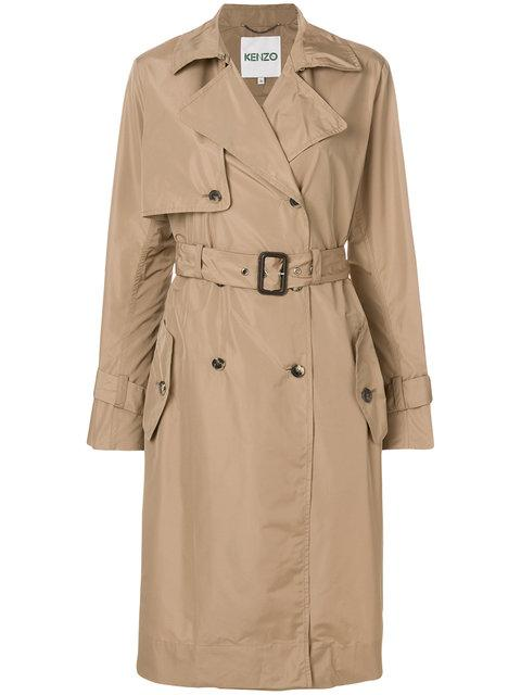 Kenzo Belted Trench Coat