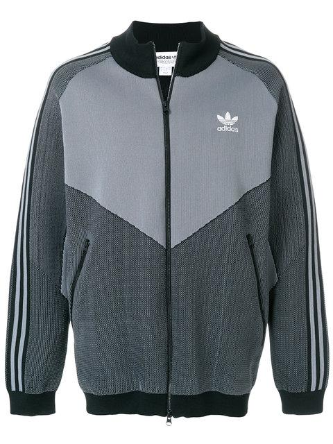 Adidas Originals Adidas  Plgn Track Jacket - Grey
