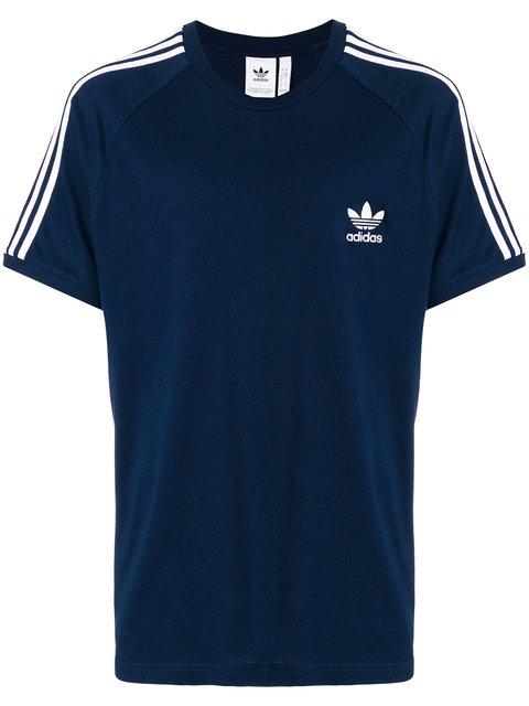Adidas Originals Adidas  3-stripes T-shirt - Blue
