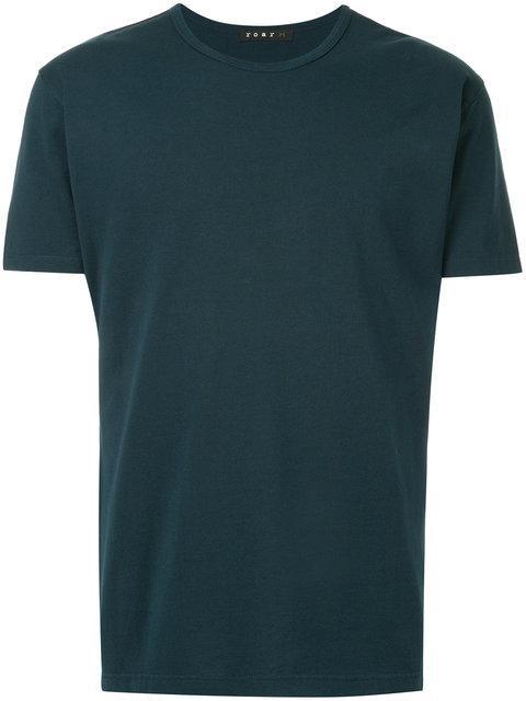 Roar Round Neck T-shirt - Blue