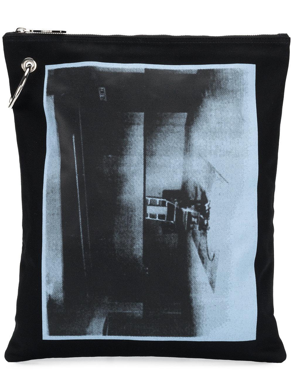 Calvin Klein 205w39nyc X Andy Warhol Foundation Little Electric Chair Clutch Bag