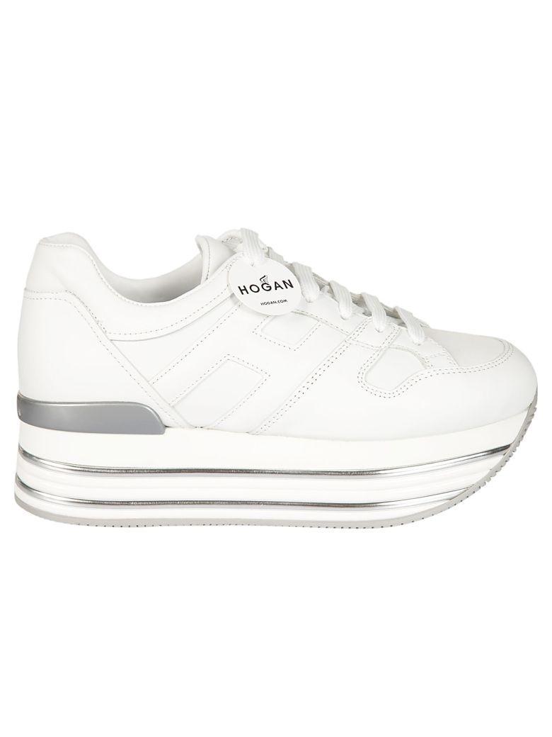 Hogan Classic Platform Sneakers In Bianco