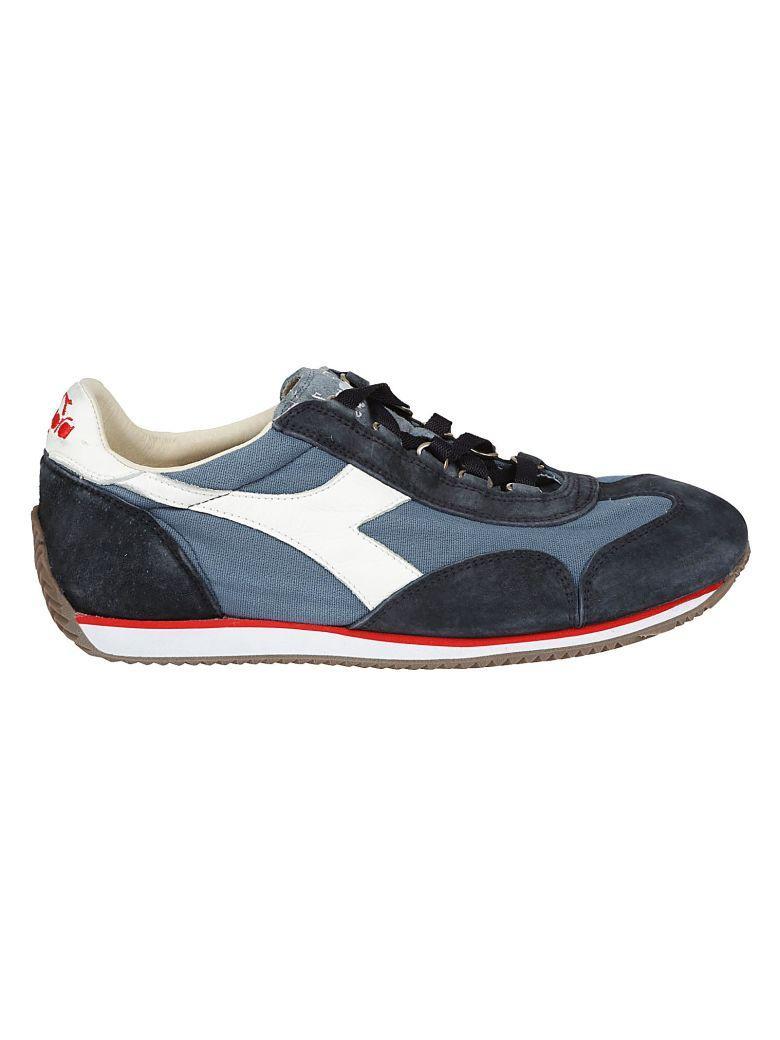 Diadora Equipe Stone Wash Sneakers In Cblu Cina/blu Profondo