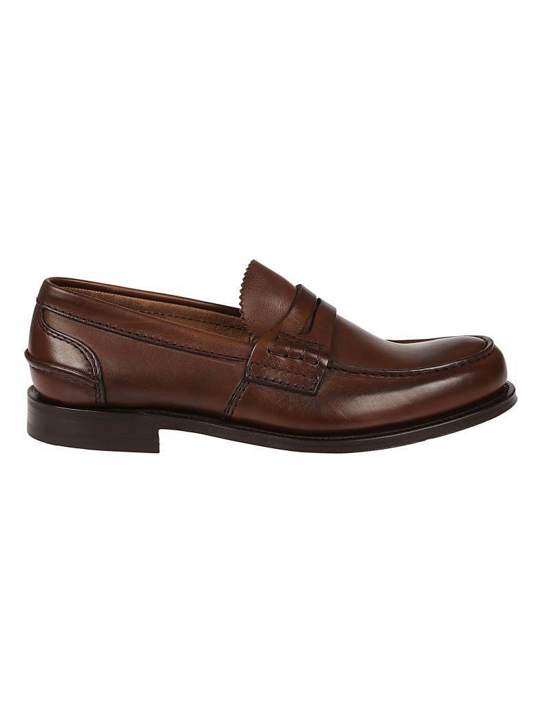Church's Pembrey Prestige Loafers In F0acl Cognac