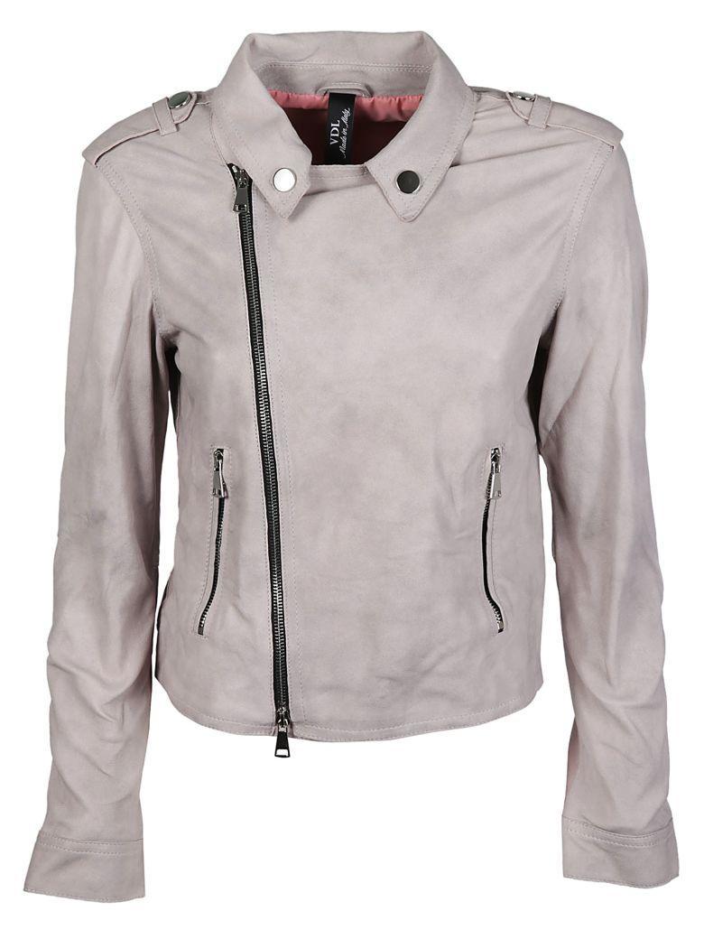 Vintage Deluxe Zip Jacket In Rosa