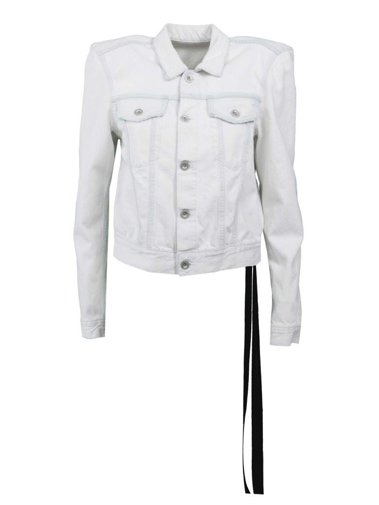 Ben Taverniti Unravel Project Denim Jacket In White