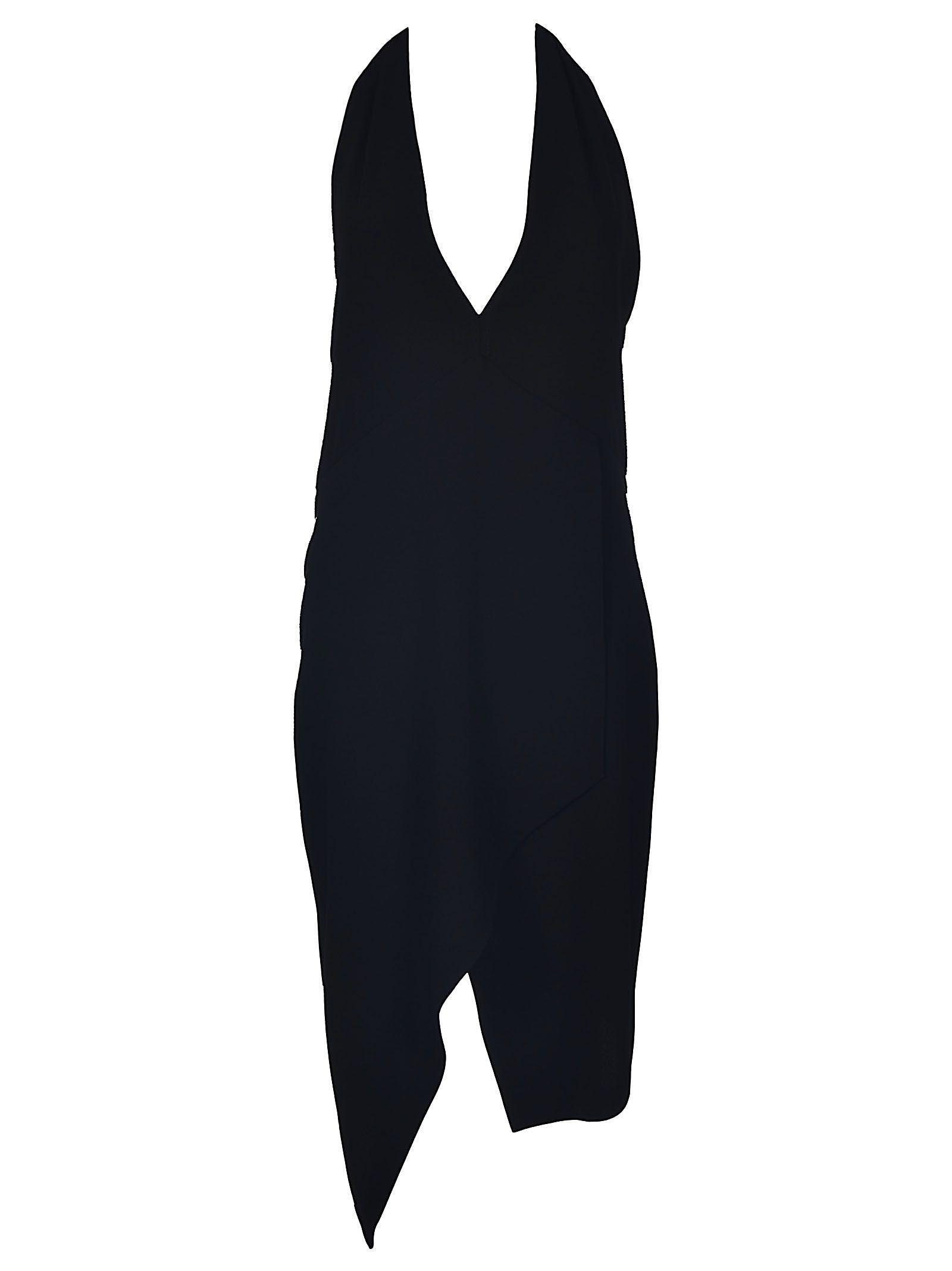 Iro V-neck Dress In Nero